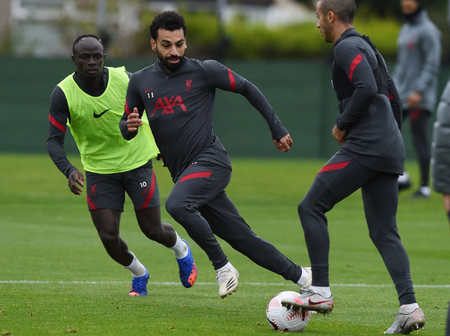 Photos: Liverpool Stars begin training ahead of Premier League tie against Everton on Saturday