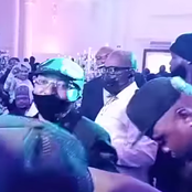 Moments Between Davido And Oluwo At The Birthday Party Of Elegushi's King
