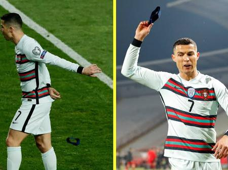 Cristiano Ronaldo's Portugal armband auctioned for a good cause.