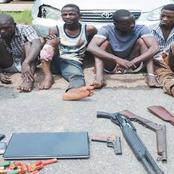 Police Arrest 12 Suspected Cultist In Abuja, Recovering Firearms And Several Weapons.