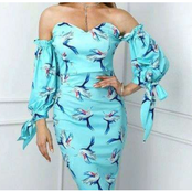 Dear Ladies, Checkout 14 Classy Floral Gowns You Should Slay In, This Christmas.
