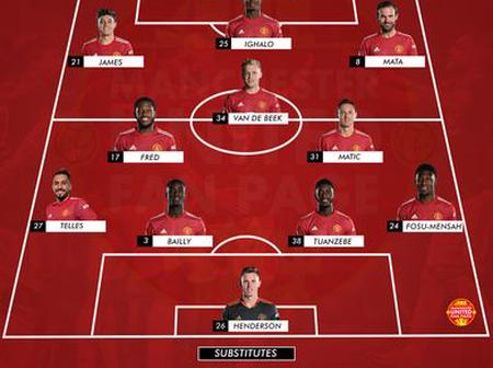 Opinion: How Manchester Could Line Up For Tonight's FA Cup Tie Against Watford