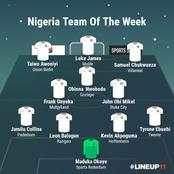 Nigeria Team Of The Week: Brainstorming Obi Mikel, Maduka Okoye Redeems His Image