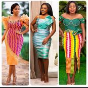 Tired of ankara? Check out some kente styles you can rock this Christmas