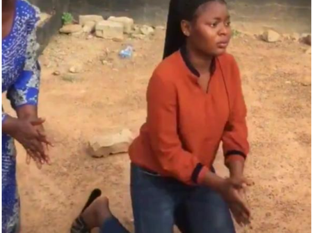Even If I Forgive You My Head Won't- Food Vendor Breaks Down In Tears As A Student Confesses To Her