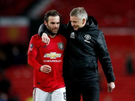 Europa League: Solskjaer clears air on Juan Mata leaving Man United