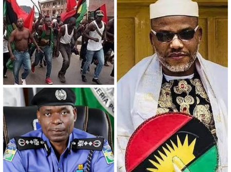 Today's Headlines: Inspector Of Police Sends Strong Message To IPOB, Abuja & Lagos Courts Shut Down
