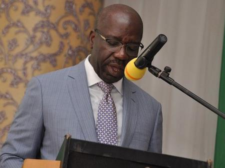Check What Govenor Obaseki Said Might Happen To The Nigerian Econony If They Keep Burrowing Money.
