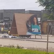 1er jour de campagne : déjà des affiches de Yasmine Ouegnin déchirées à Cocody, les faits !
