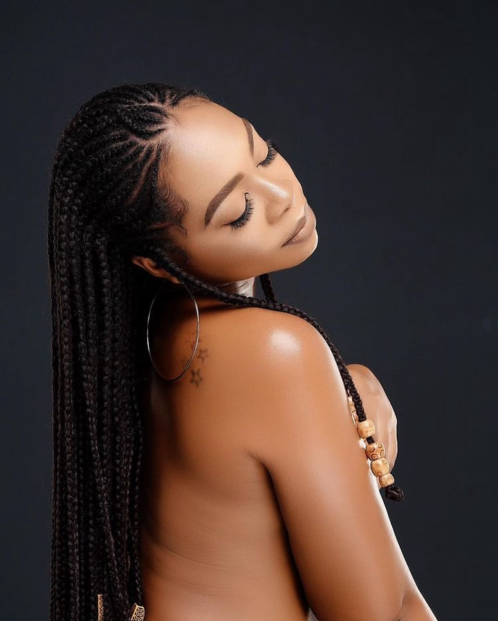 a1d93b0195e94ef0a530471148a82f3f?quality=uhq&resize=720 - Michy Breaks The Internet; Flaunt Her Natural Skin On New Photos