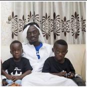 See 10 Photos Of Lil Win And His Adorable Kids That Will Touch Your Heart