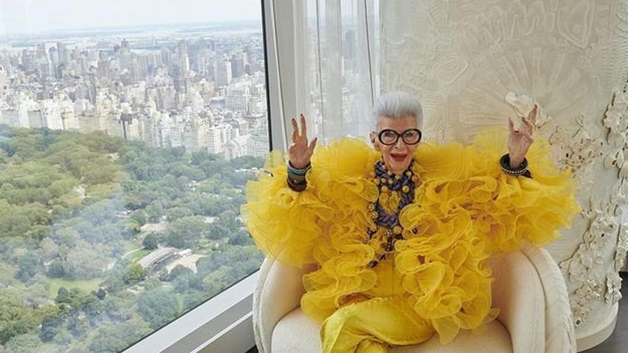 L'instant mode : pour célébrer ses 100 ans, Iris Apfel collabore avec H&M