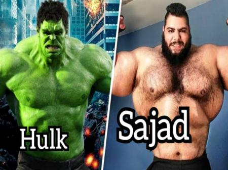 Meet The Real Life Hulk From Iran