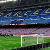 Police arrest four at Barcelona's club office