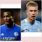 Between Kelvin De Bruyne And Mikel Obi: Who Is Richer?