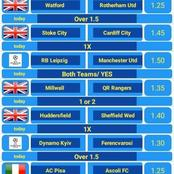Best Four GG Selections With Great Odds To Win Huge Cash Today
