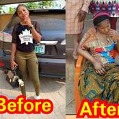 Popular Igbo girl 'Ada Jesus' is suffering from stroke after challenging a Native doctor