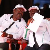 Mudavadi's ANC takes Raila's Orange Party to Court as their Political differences Plays Out.