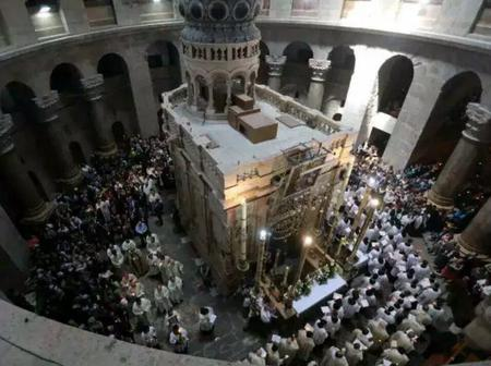 Fiction: 2000 Years Later, This is How The Tomb Of Jesus, Paul and Other Disciples Looks Like