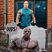 Martyn ford is really getting muscular like The Rock