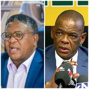 'Ace Is Out Of Line' - Fikile Mbalula Sends Strong Message To Magashule