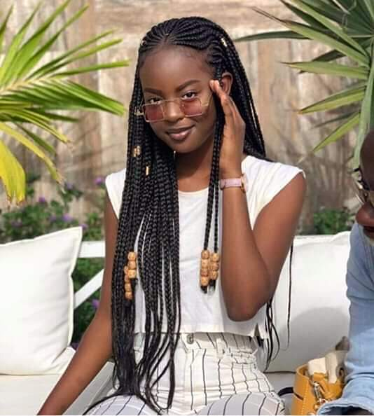 Alluring and Classy Ghana-Weaving Hairstyles you can try