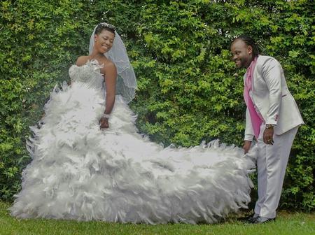 Throwback Wedding Photos Of Selly Gally And Husband Cartel Big J