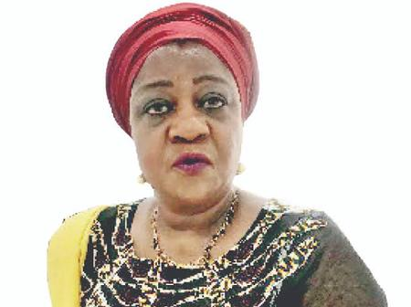 Lauretta Onochie Is At It Again. See What She Did To A Female Soldier Who She Met At A Store (Photo)