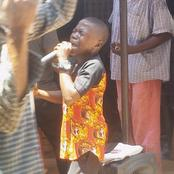 God Is Rising Little Boys For Himself - A Young Boy Of 10 Preaching At The Market With Authority