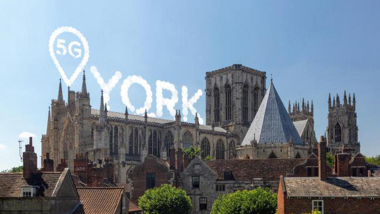 Network launches 5G in 35 UK locations - including York
