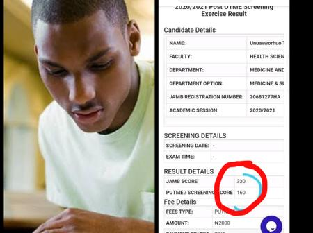 Mixed reactions as medical aspirant who got 330 in JAMB, jeopardizes hope with low Post-UTME score