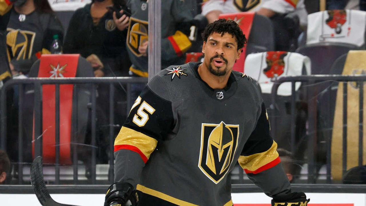 Golden Knights' Ryan Reaves will have hearing for roughing Avalanche's Ryan Graves