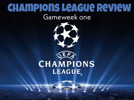 Champions League: See The Group Tables, Results and Next Fixtures After The Completion of Gameweek 1