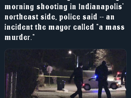 Mass Murder: Americans react on Twitter over Indianapolis shooting