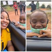 Check Out What This Little Girl Said After Meeting Erica That Made People React (Video)