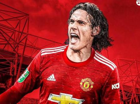 Opinion: Edinson Cavan Will Help Manchester United To Thrash PSG in Champions League Match Today