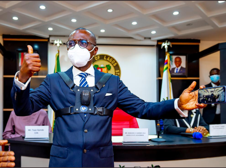 Lagos State Government Introduces Body Camera For Security Agencies, Checkout How It Looks