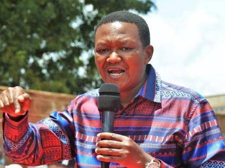 Alfred Mutua, Kimani Wamatangi, Samson Cherargei And Otiende Amollo Join Hands To Speak One Language
