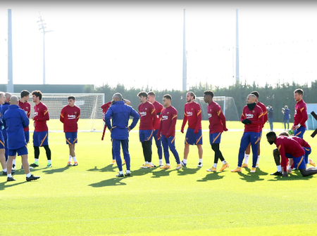 Barcelona Training Plan For The Week Ahead And Tammy Abraham On His Current Form.