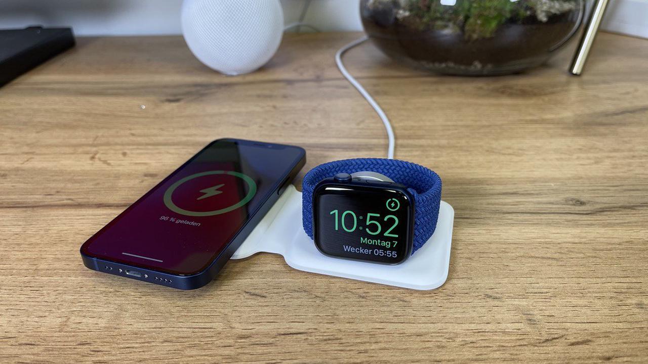 iPhone 13 Pro und MagSafe Duo Ladegerät: Mit Hülle wird es eng
