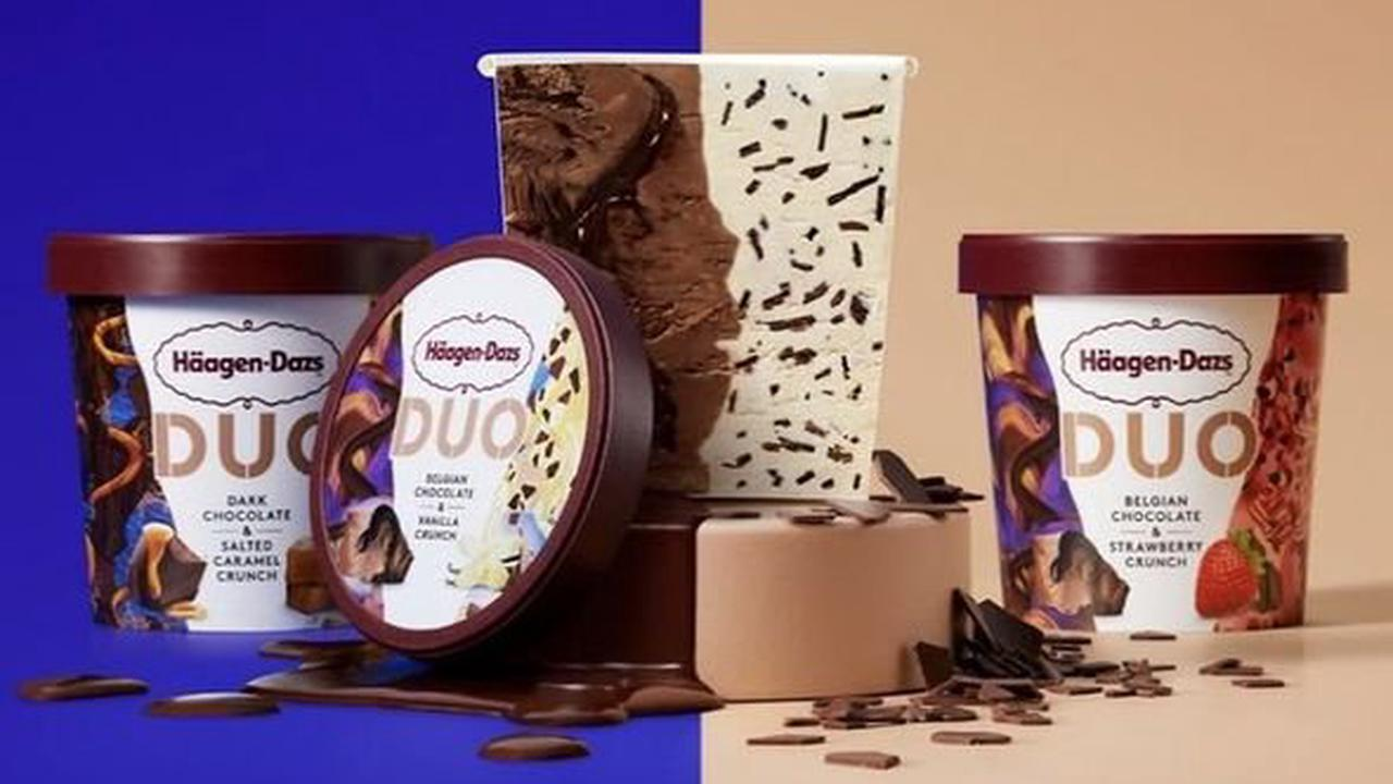 Häagen-Dazs launches new Duo ice cream range with two-in-one flavours - where to get