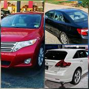 Here Are 6 Most Stolen Type Of Cars in Nigeria, No. 5 Is A Toyota Highlander