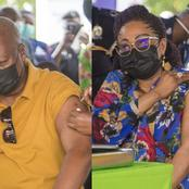 John Mahama Finally Speaks After Being Vaccinated With His Wife; Talks About His Experience