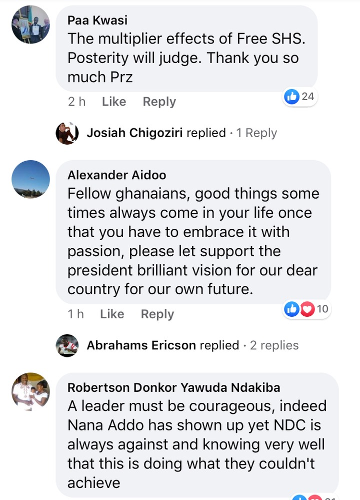 a2a24e8b7827bab4d73eb72200d72d60?quality=uhq&resize=720 - Ghanaians React After Nana Addo Wished First Batch Of Free SHS Students Well In Their Final Exams