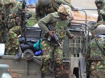 5 KDF Soldiers Arrested By Police Officers After They Were Found Doing This On Saturday Night