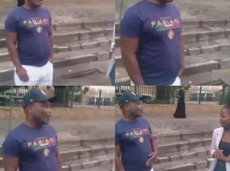 Watch : This Is The Real Blesser Who Demolished The House, Listen To His Explanation.