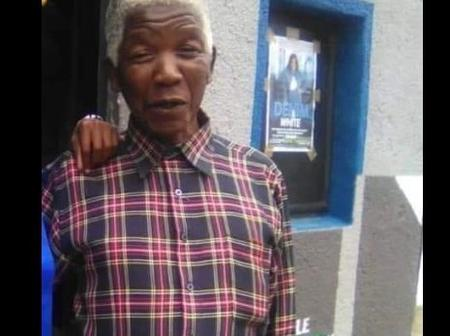 Nelson Mandela's look alike causing some confusion on social media see comments