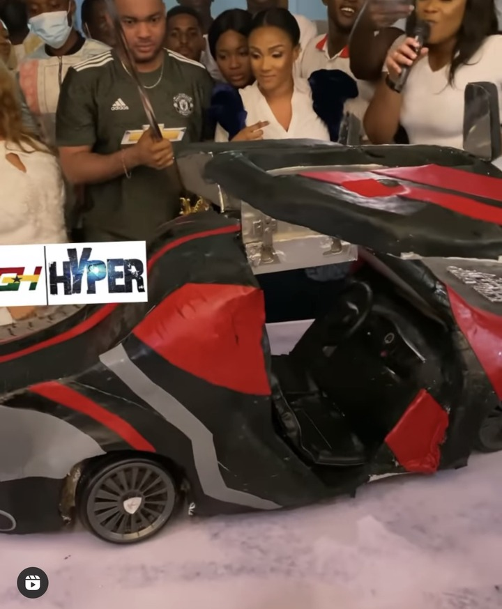 a2b85e4ee8c2450c876b65640a6f2a40?quality=uhq&resize=720 - Kwadwo Safo Jnr Celebrates His Birthday With A Lamborghini Cake After Building The Same Type Of Car