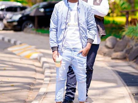 'Umevaa Nguo ya Majesty?'-Khaligraph Jones Questions Bahati's Choice of Trouser