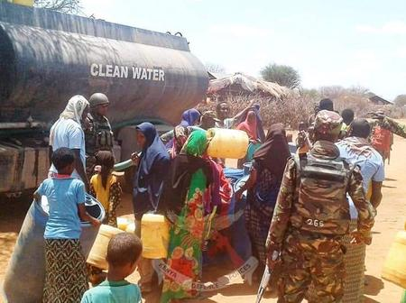 KDF Troops Step Up Humanitarian Efforts In Somalia